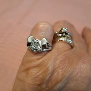 Vintage Disney Mickey Mouse ring